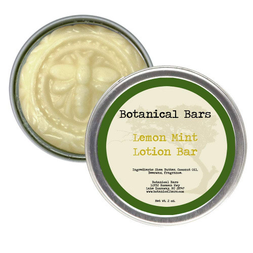 Body Lotion Bar Lemon Mint