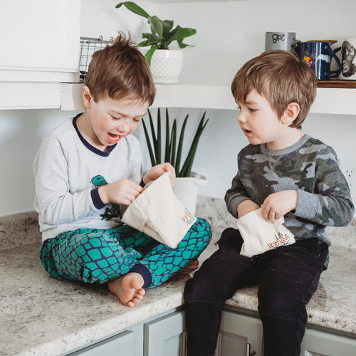 Organic Cotton Flip Bag - small - boys