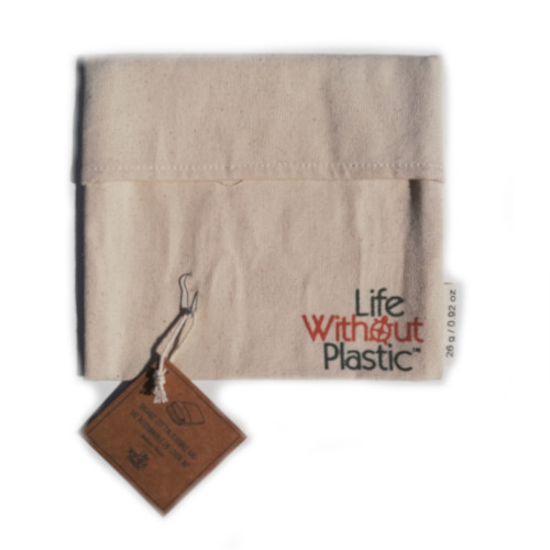 Organic Cotton Flip Bag - medium