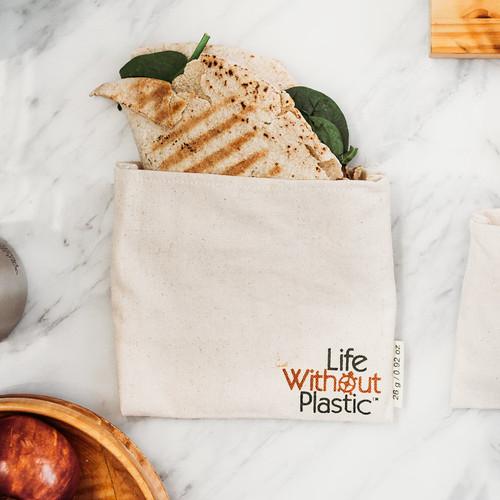 Organic Cotton Flip Bag - medium - wrap