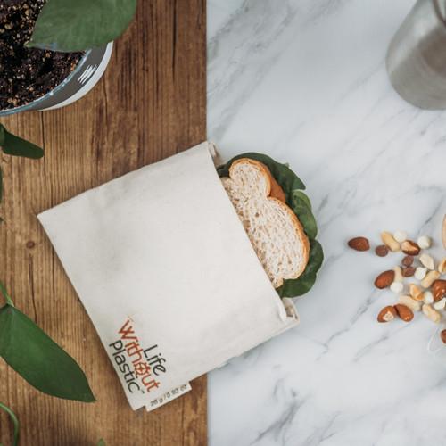 Organic Cotton Flip Bag - medium - sammie