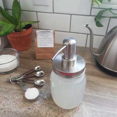 Pure Soap Flakes - liquid soap