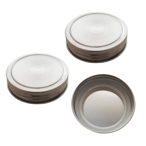 Stainless Steel Mason Jar Lids