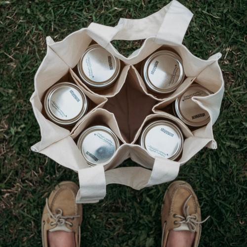 Organic Cotton Tote for Bulk Shopping - interior