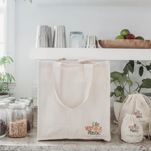 Organic Cotton Tote for Bulk Shopping