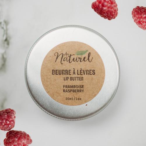 Au Naturel Plastic-Free Lip Balm - Raspberries