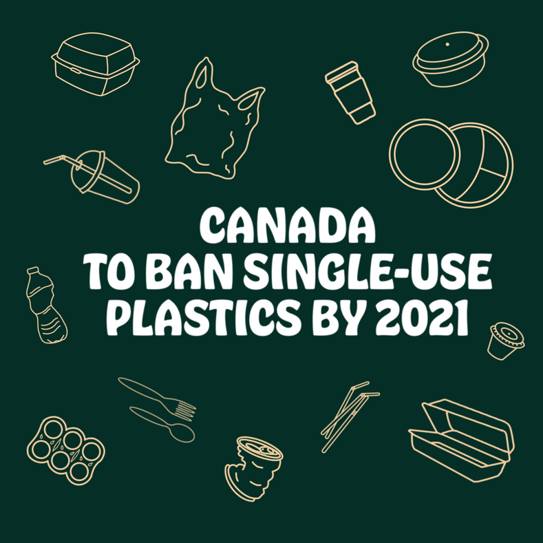 Canada to Ban Six Single-Use Disposable Plastics: Submit Your Comments