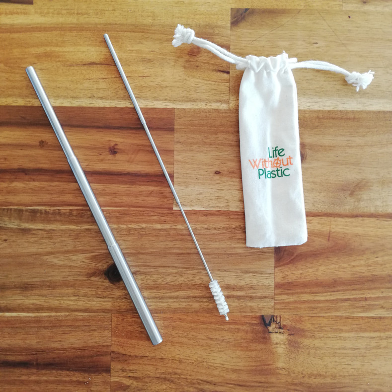 Introducing our Pocket-Sized Reusable Telescopic Straw Kit!