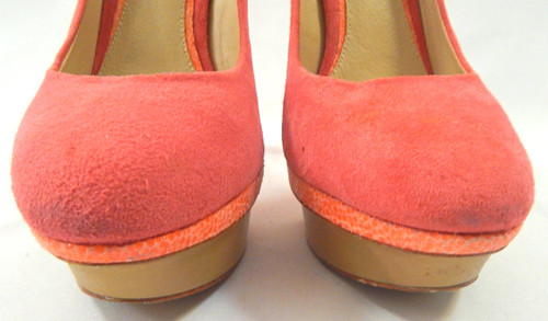 942bbd0df63 B by Brian Atwood  Fontanne  Pink Suede Pump Sz 8.5 - Catch 22 Boutique