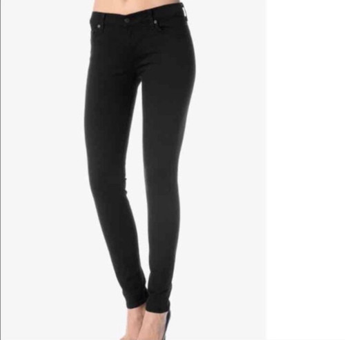 7 For All Mankind 'Gwenevere' Black Jeggings Sz 27