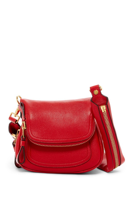Tom Ford Red Mini 'Jennifer' Crossbody Bag  **BRAND NEW