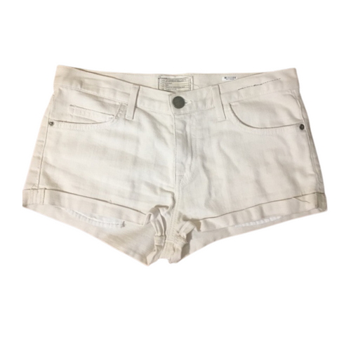 Current/Elliott Cream 'The Girlfriend Short' Sz 26