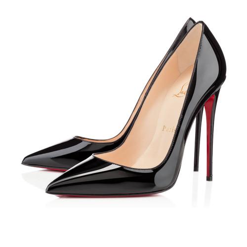 Christian Louboutin Black Patent Leather 'So Kate' sz 36.5 (US 6)