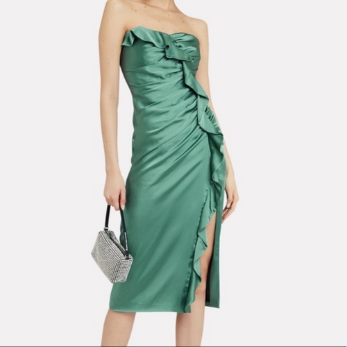 Jonathan Simkhai Ruffled Dress sz 8