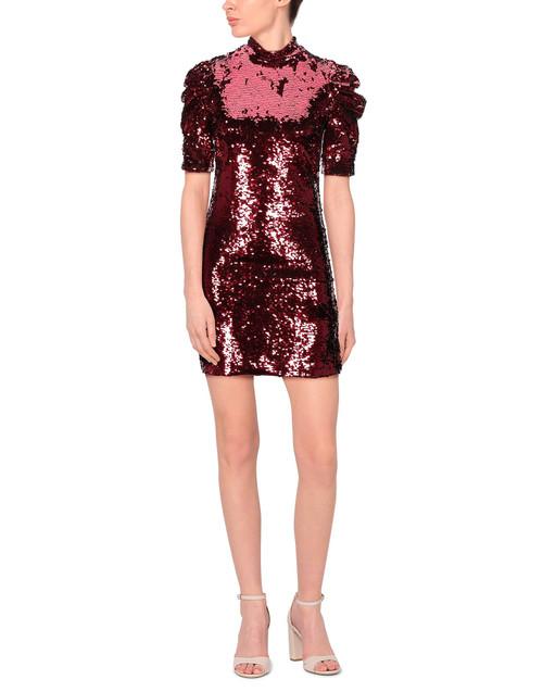Alice + Olivia Red Sequin Dress sz 12