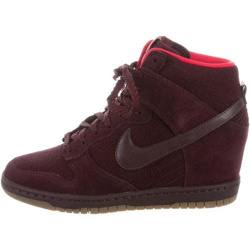 NEW! NIKE Dunk Sky Hi Essential Sneaker Wedge sz 8.5
