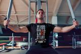 Blood Guts And Hot Stuff Short-Sleeve T-Shirt