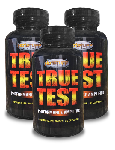 TRUE TEST - Testosterone Booster & Performance Amplifier