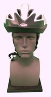 Bike Helmet Safety Display - Display Stand