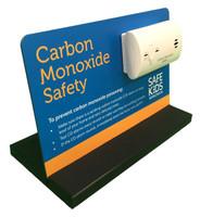 Carbon Monoxide Alarm Tabletop Display - Oblique View