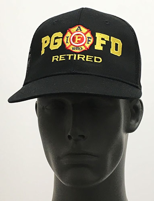 Retired Black Hat (Front)