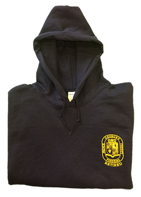 Front of Hooded Sweatshirt