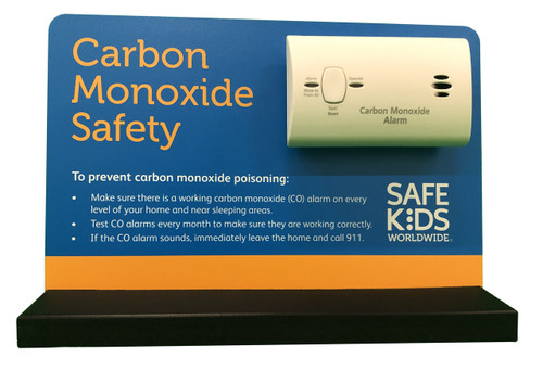 Carbon Monoxide Alarm Tabletop Display - Front View