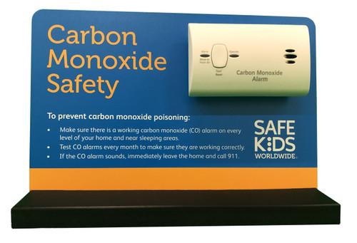 Carbon Monoxide Alarm Tabletop Display - Front View