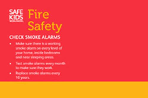 Smoke Alarm Tabletop Display