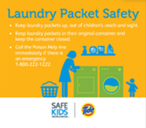 Laundry Safety Tabletop Display