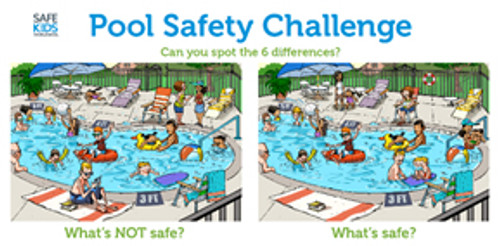 Pool Safety Banner