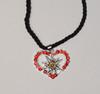 (JN112) Edelweiss Heart assorted colors