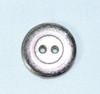 "Button (BUT007) 3/4"" Alpine Flowers Silver tone"