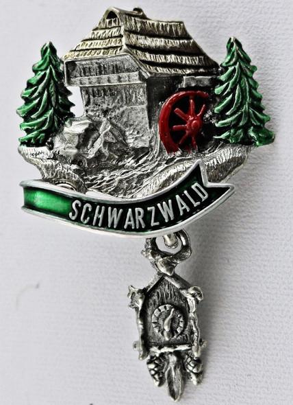 HP8474  Chalet w/clock SCHWARZWALD