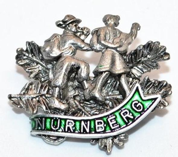 HP8477N Hikers Hat Pin Nürnberg