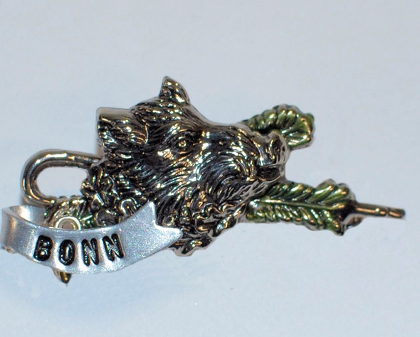 HP8496 Boar Hat Pin BONN