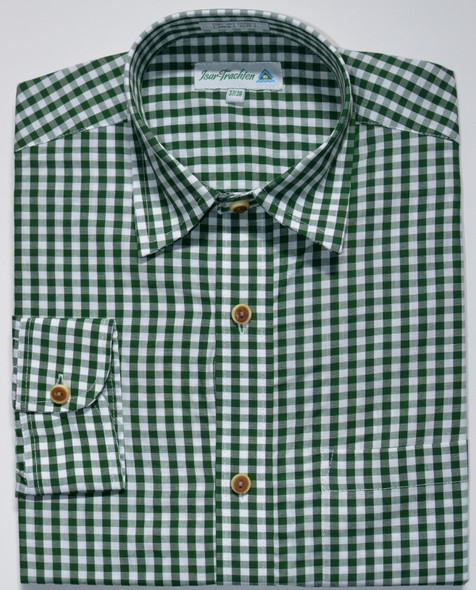 Green checkered shirt (SH-237GIS)