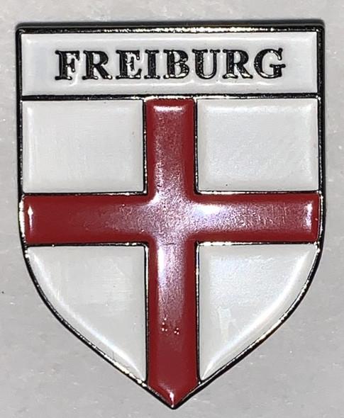 HP8530 FREIBURG Crest Hat Pin