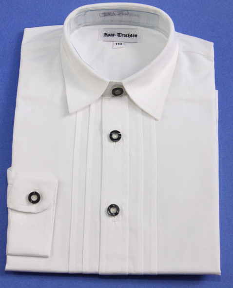 Boy's White Button Shirt