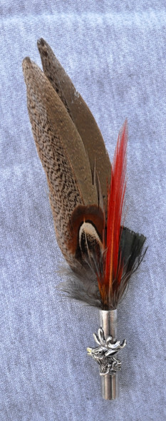 "Colorful Feather 6"" (FEA252)"