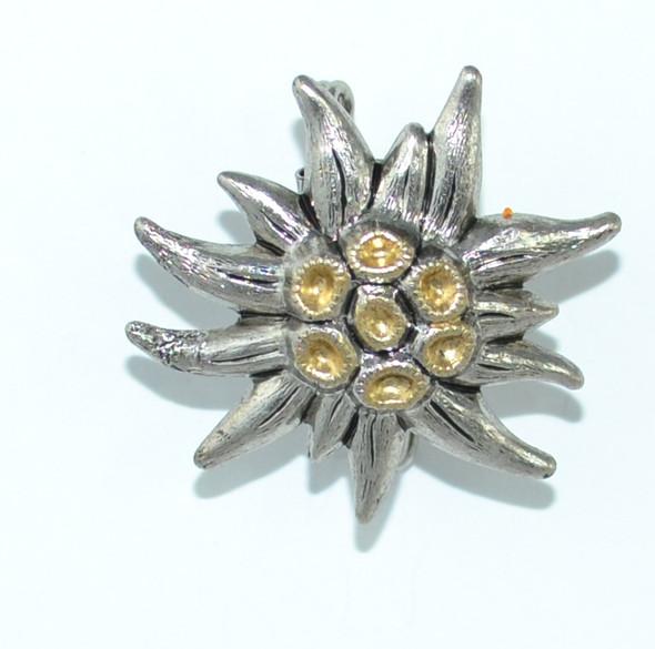 HP8433 Single Edelweiss Hat Pin