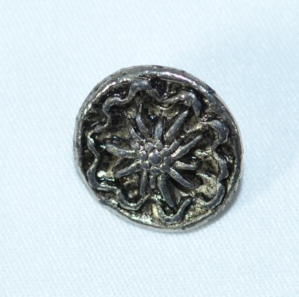 """Button (BUT008) Edelweiss 7/8"""""""