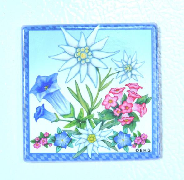 Magnet  Edelweiss Alpine Flowers (MAG-FLWRS)