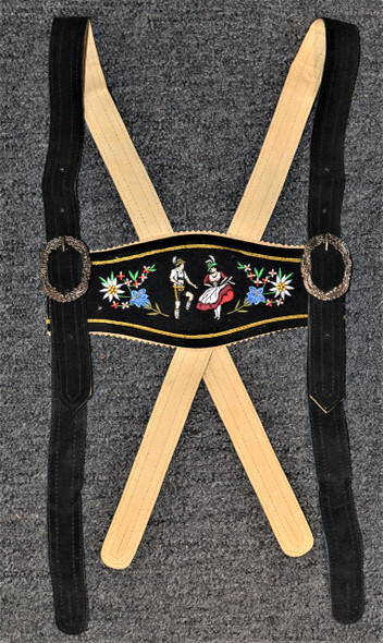 Dancers Black Suspenders