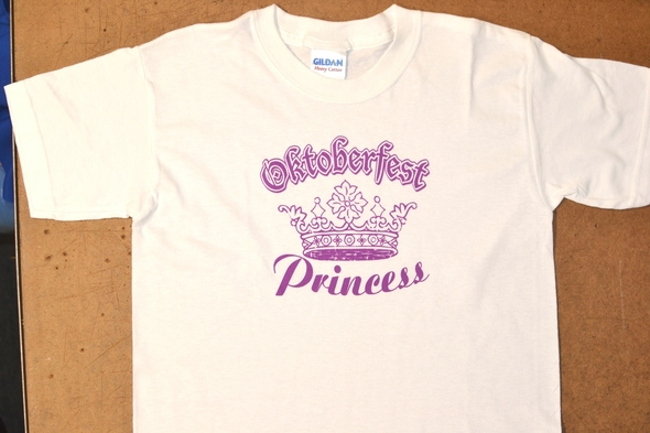 Oktoberfest Princess T-shirt Adult