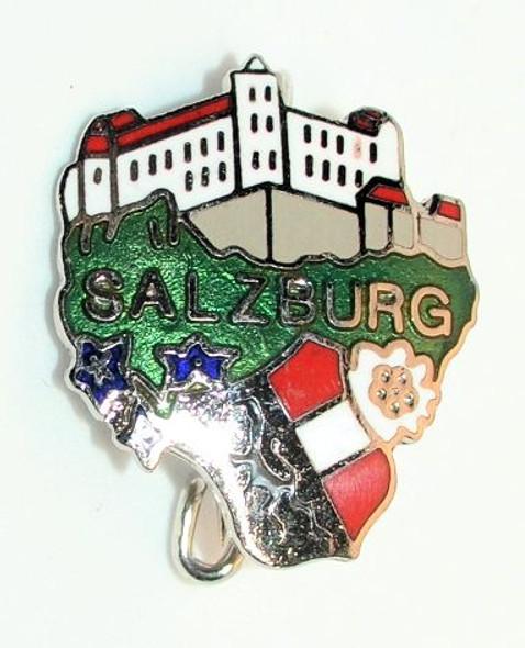 HP8826 SALZBURG Castle Crest Hat Pin