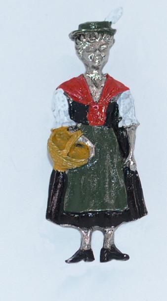 HP8813  Standing Bavarian Lady
