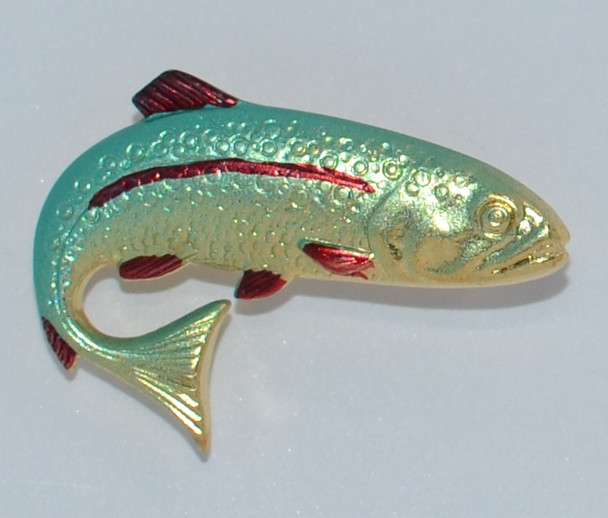HP8435B Fish hat pin