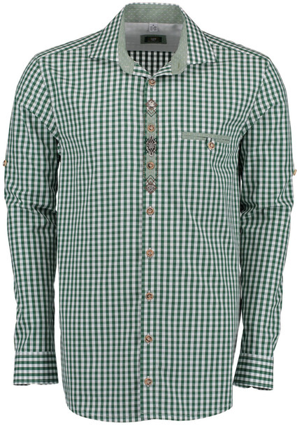 Green Checkered with design (SH-254G)