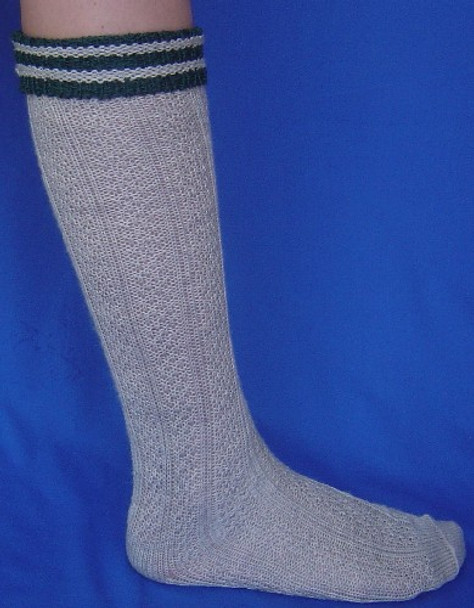 Boy's Gray Trachten Socks